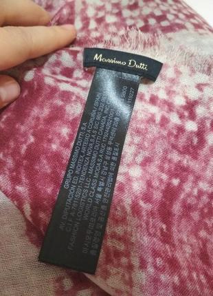 Роскошный фирменный большой шерстяной платок 100% шерсть супер качество!!!6 фото
