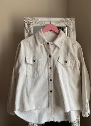 Вельветовая рубашка1 фото