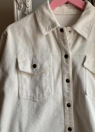 Вельветовая рубашка2 фото