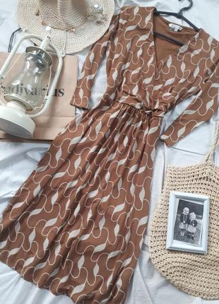 Платье. пиди. в принт. винтаж. винтажное. ретро. плаття2 фото