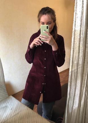 Платье рубашка плотная вельветовая вельветовое на кнопках asos zara mango h&m