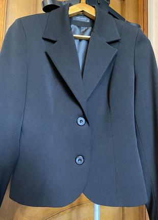 Шерстяной базовый пиджак 44-46разм.6 фото