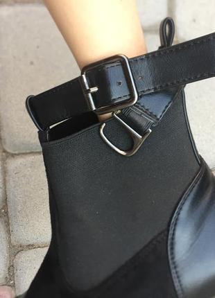 Кожаные ботинки, демисезонные4 фото