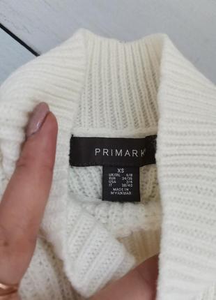 Модный свитер под горло свободный фасон пушистые рукава размер хс-с3 фото