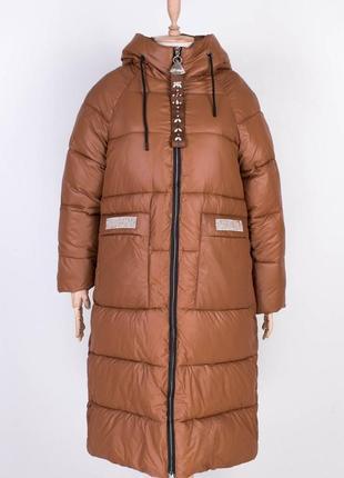Женская длинная куртка1 фото
