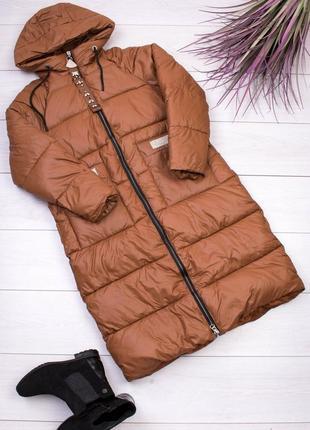 Женская длинная куртка3 фото