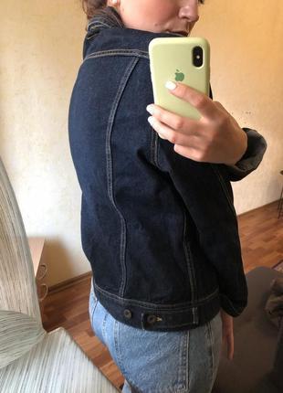 Классический джинсовый пиджак жакет оверсайз zara mango h&m4 фото