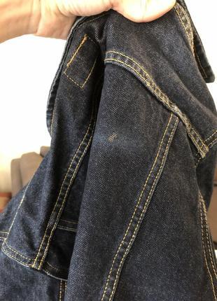 Классический джинсовый пиджак жакет оверсайз zara mango h&m7 фото
