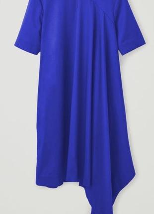 Яркое стильное ассиметричное платье cos размер 442 фото