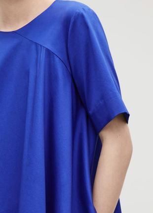 Яркое стильное ассиметричное платье cos размер 444 фото