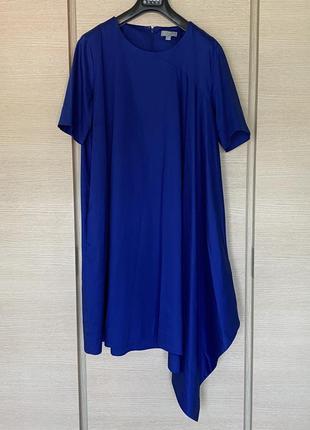 Яркое стильное ассиметричное платье cos размер 447 фото