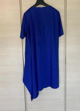 Яркое стильное ассиметричное платье cos размер 448 фото