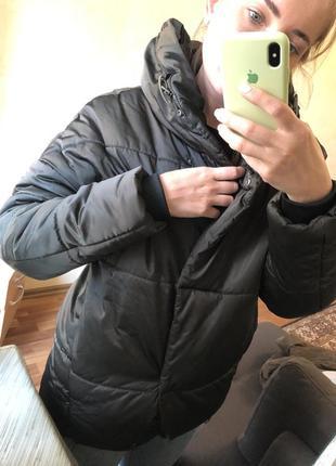 Куртка пуховик зефирка оверсайз парка asos zara mango h&m7 фото