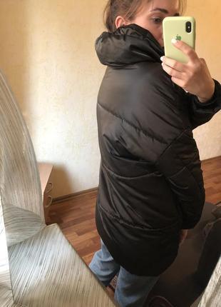 Куртка пуховик зефирка оверсайз парка asos zara mango h&m3 фото