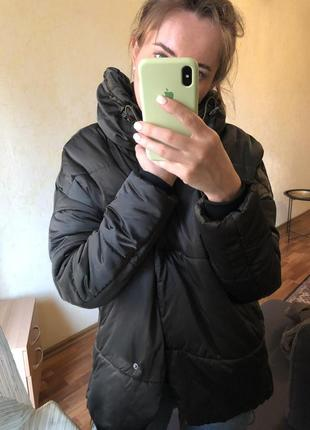 Куртка пуховик зефирка оверсайз парка asos zara mango h&m5 фото
