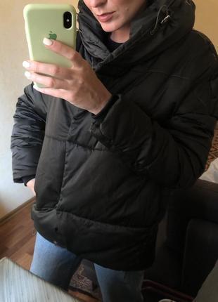 Куртка пуховик зефирка оверсайз парка asos zara mango h&m9 фото