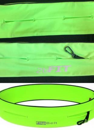 Спортивная поясная сумка для бега1 фото
