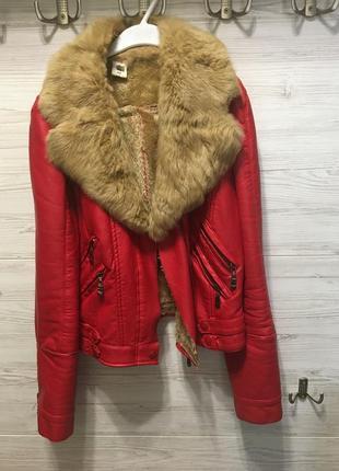 Куртка дубльонка дубленка