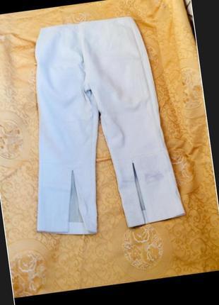 Exte оригинал кожаные кюлоты бриджи брюки раз 40 ит/36 ев