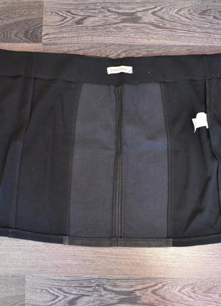 Новая юбка из экокожи3 фото