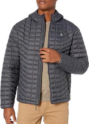 Демисезонная стеганая куртка reebok ,  xl