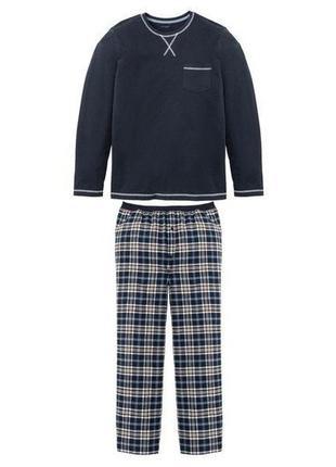 Шикарная  фланелевая пижама. костюм для дома livergy.