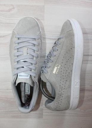 Оригинальные женские кроссовки puma court star замша