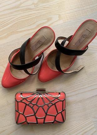 Нарядные туфли respect + сумочка