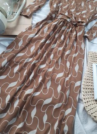 Платье. пиди. в принт. винтаж. винтажное. ретро. плаття3 фото