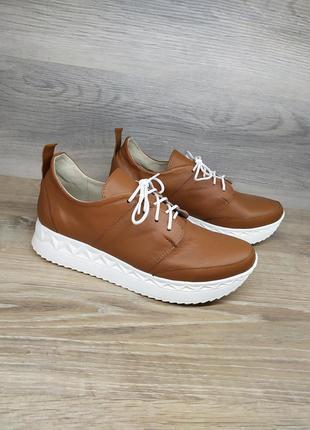 Кожаные кроссовки - натуральная кожа model 2312