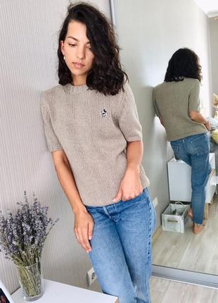 Идеальная кашемировая футболка, свитер от donaldson