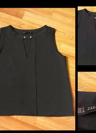 Фирменная блузка zara, размер l