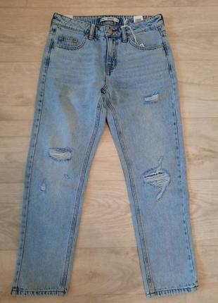 Новые джинсы-бойфренд sinsay