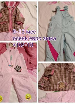 Комплект термо комбинезон парка куртка евро зима
