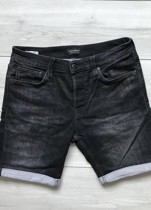 Мужские джинсовые шорты jack & jones оригинал
