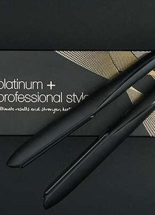 Утюжок для укладки волос ghd platinum+ black