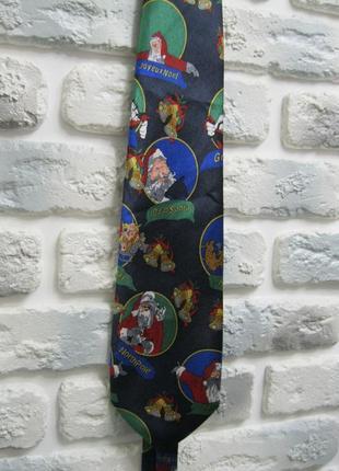Новогодний галстук simone collection