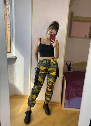 Яркие брендовые стильные джинсы брюки штаны