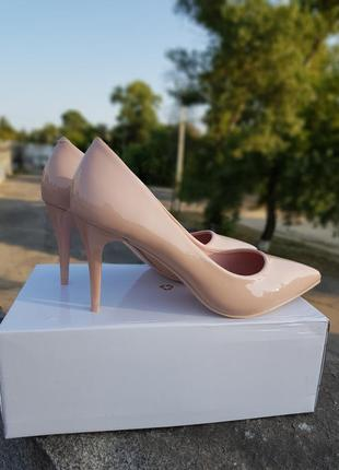 Туфли женские лодочки на каблуке 8 см