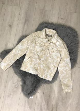 Льняная курточка, легкая куртка