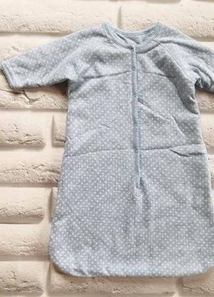 Zara классный конверт-спальник для мальчика 3-6 мес