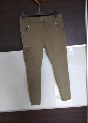 Актуальные стильные штаны, джоггеры papaya