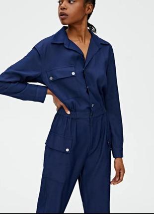 Стильные комбинезон под джинс от pull&bear