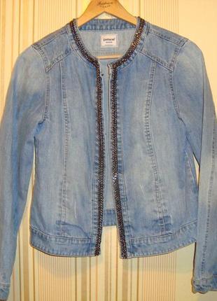 Джинсовая курточка pimkie