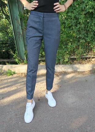 Классические брюки сигареты zara, штаны