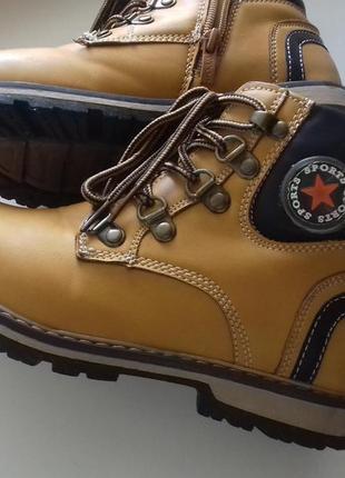 Ботинки деми y-top, р.32 (20см) качество!