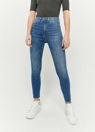 Бомбезные скинны джинсы джеггинсы push up пуш ап высокая посадка талия