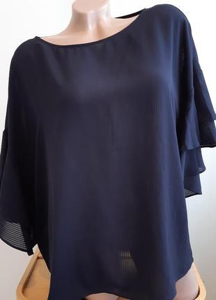 Блуза с рукавом воланом, размер 44, h&m