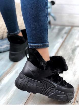 Стильные зимние спортивные ботинки, хит сезона, сапоги, сапожки, ботинки на меху
