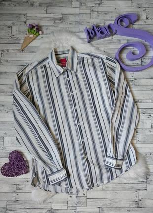 Рубашка esprit мужская в полоску